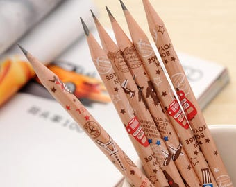 Cartoon Pencils for Kids - 50 Pcs - 2H - HB(#2) - 2B