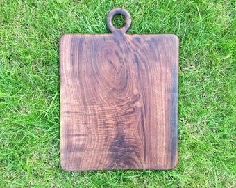 Black walnut serving board an incredible texture