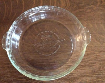 Pyrex 75th Anniversary Pie Plate