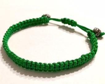 Green Adjustable Bracelet