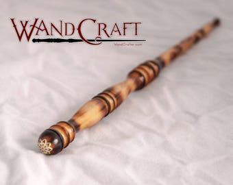 "Magic Wand: Ornamental Pear 12.25"" Unicorn Hair Core"