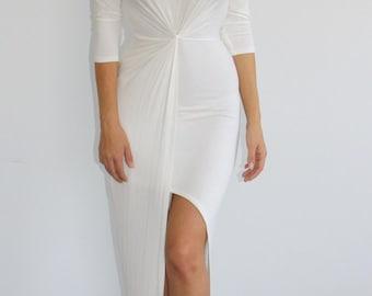 Goddess Wrap Maxi Dress