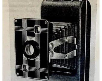 1934 KODAK JIFFY camera AD from a magazine