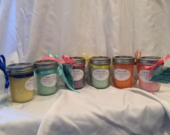 Sea Salt Body Scrubs