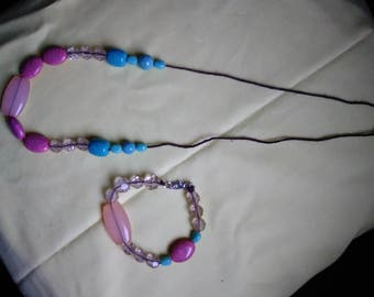 Turquoise and Peach Light Delight Jewelry