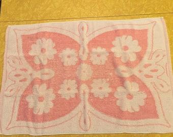 Vintage Pink Hand Towel