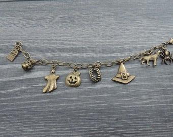 Halloween Inspired Charm Bracelet