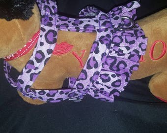 Cheetah dog Harnes