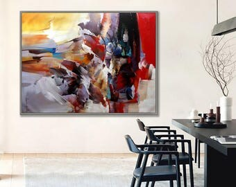 "Abstract Art, Abstract Painting, Modern Art , Contemporary Art,   36x48""/90x120cm Large Art"