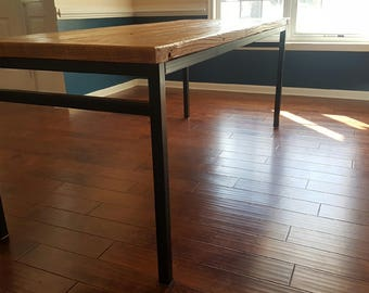 Large Reclaimed Wood Dining Table
