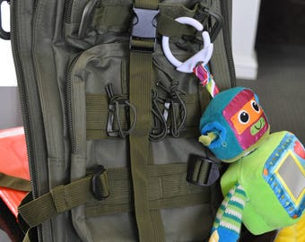 Pre Order Tactical Diaper Bag BELLS AND WHISTLES