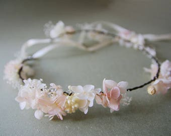 Real Eternal/Stabilized flower Crown /Tiara Sandrine