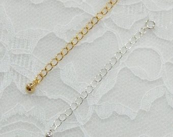 CHAIN EXTENDER,Necklace extender, removable extender