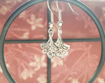 Split Pea  (Handmade Earrings)