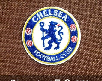 patch,custom patch,Embroidered Patch,personalized patches,gift for friend,Chelsea team patch,