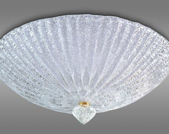 Ceiling light in crystal Graniglia