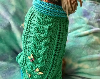 Sweater MAXIE MOO Bespoke HandKnitted Custom Made Especially for You