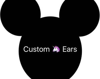 Custom Unicorn Ears for Marissa