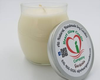 9.5 oz. Candle Curved Side Jar (Soy/Palm)