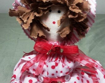 "Handmade 16"" Rag Doll."