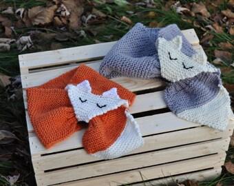 Fox scarf for children