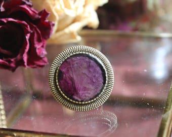 Rose Round Rings