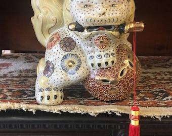 Oriental Foo Dog Figurine