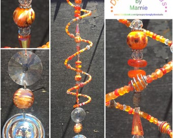 FLAMES - Spiral Suncatcher