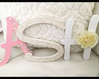 Shabby Chic Wooden Letter Decor