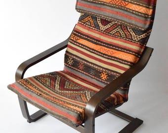 Ikea Poang Rug Slipcover 006