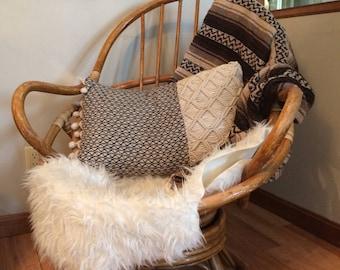 mcm rattan egg chair bohemian chair boho wicker chair