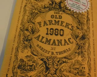 The Old Farmer's Almanac 1980, Robert B. Thomas 188th Anniversary