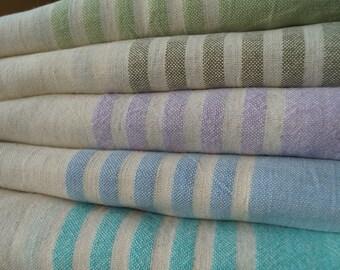 Beaches & Cream Handloomed Fine Linen Towel