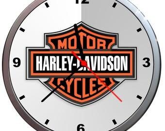 HARLEY-DAVIDSON sports motorcycle wall clock