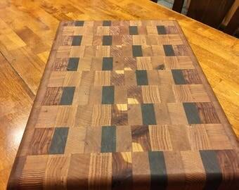 Hand made endgrain cutting board