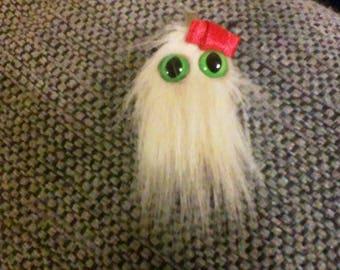 Cute Blond Monster Girl Alligator Hair clip