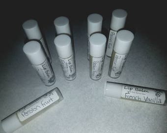 All Natural Beeswax Lip Balm