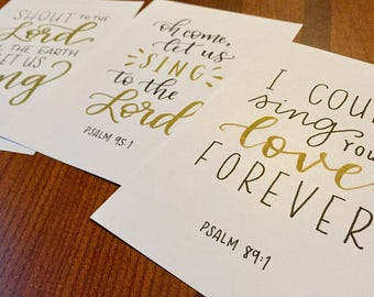 Psalms (Set of 3)