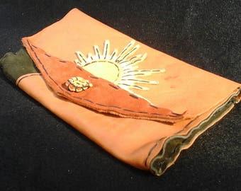 Handmade Italian Leather purse/pouch