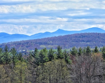 view of Jay Peak from Berkshire Vermont