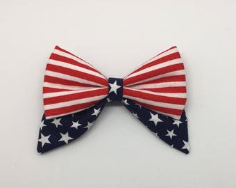 American Flag 2.0 Mini Sailor Bow **Limited Stock**