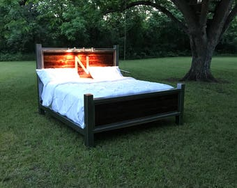 Handmade Personalized Headboard and Footboard