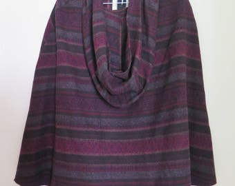 Gypsy Patterned Hooded Cape