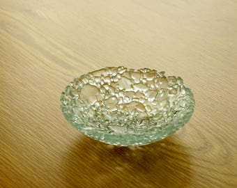 Recycled Tempered Glass Bowl