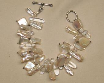 Pearl & Quartz Bracelet