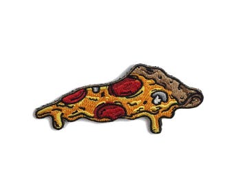 Pizza Embroidered Patch