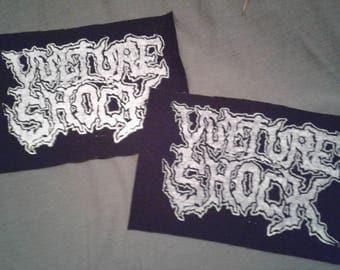 Vulture Shock Logo Canvas Patch