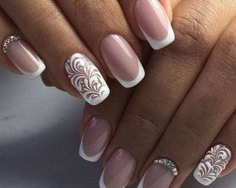 1.20 New French Manicure Tip Guides Strip Nail Art Toes