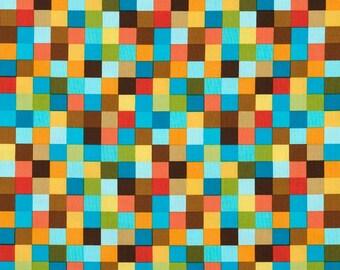 Fat Quarter Rainbow Remix Bermuda by Robert Kaufman Cotton Quilting Fabric