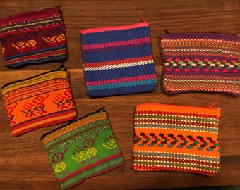 Handcrafted, Light Weight Change Purse / Wallet